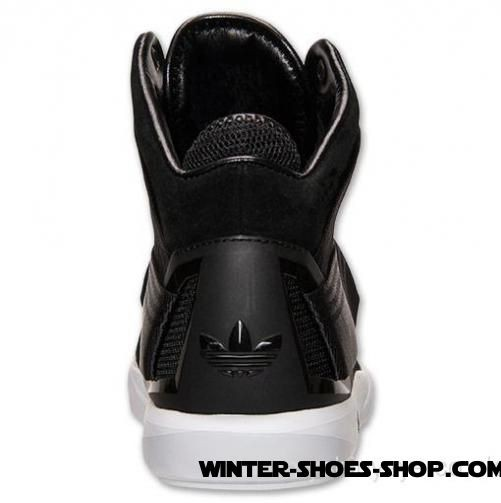 Unique Design US Men's Adidas Court Ten Mid Casual Shoes Black/White Outlet Genuine - Unique Design US Men's Adidas Court Ten Mid Casual Shoes Black/White Outlet Genuine-01-1
