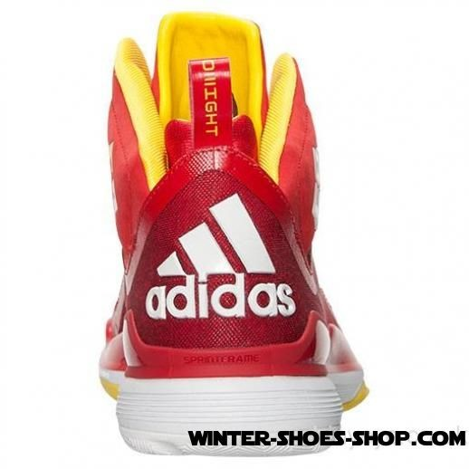2017 New US Men's Adidas D Howard 5 Basketball Shoes Red/Yellow For Sales - 2017 New US Men's Adidas D Howard 5 Basketball Shoes Red/Yellow For Sales-01-2