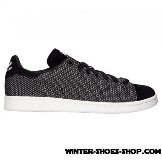 New Arrival US Men's Adidas Originals Stan Smith Weave Casual Shoes Black/White Clearance Online - New Arrival US Men's Adidas Originals Stan Smith Weave Casual Shoes Black/White Clearance Online-01-0