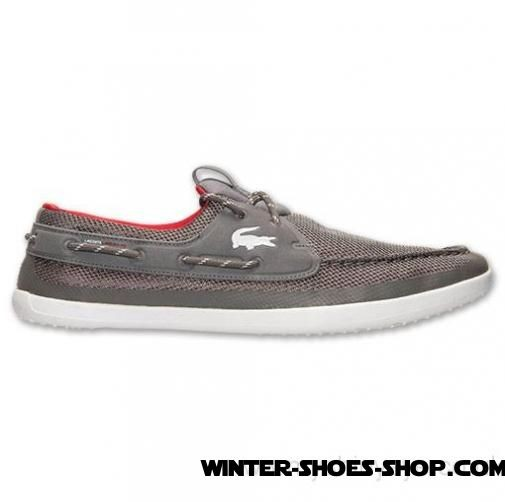 Online Sales US Men's Lacoste Landsailing Trf Casual Shoes Dark Grey/White Outlet - Online Sales US Men's Lacoste Landsailing Trf Casual Shoes Dark Grey/White Outlet-01-0