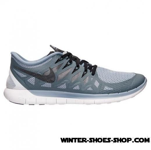 Delicate Design US Men's Nike Free 5.0 2014 Running Shoes Cool Blue/Black/Wolf Grey Free Shipping - Delicate Design US Men's Nike Free 5.0 2014 Running Shoes Cool Blue/Black/Wolf Grey Free Shipping-01-0