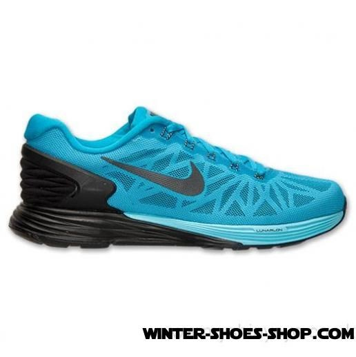 Sale Merchandise US Men's Nike Lunarglide 6 Running Shoes Blue Lagoon/Black/Tide Pool Blue For Sale - Sale Merchandise US Men's Nike Lunarglide 6 Running Shoes Blue Lagoon/Black/Tide Pool Blue For Sale-01-0