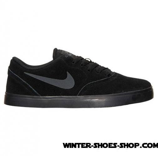 2017 Hot Sale US Men's Nike Sb Check Casual Shoes Black/Anthracite Clearance Sale - 2017 Hot Sale US Men's Nike Sb Check Casual Shoes Black/Anthracite Clearance Sale-01-0