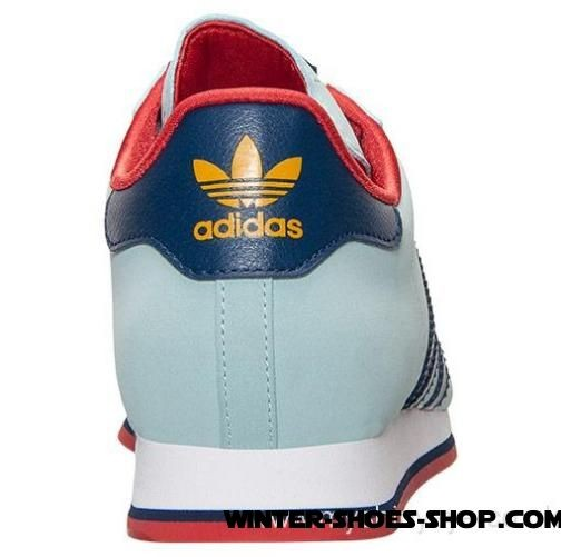 6b26224550c8 ... Finest Materials US Women s Adidas Samoa Casual Shoes Mint Navy Red  Coupon Code -