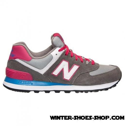 New Arrivals US Women's New Balance 574 Casual Shoes Grey US Sale - New Arrivals US Women's New Balance 574 Casual Shoes Grey US Sale-01-0
