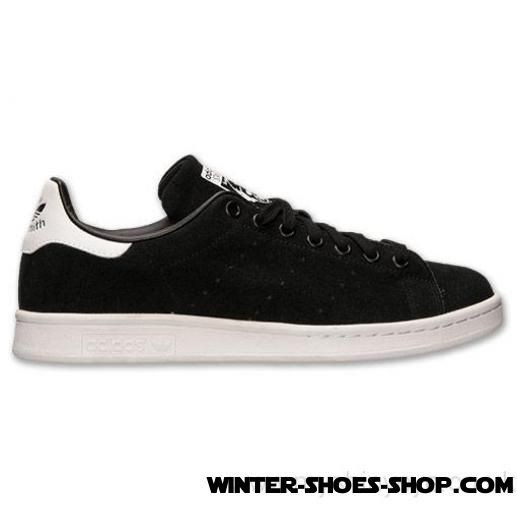 buy popular d9400 8040b Reasonable Price US Men's Adidas Originals Stan Smith Casual Shoes  Black/White Suede Outlet Online Shop