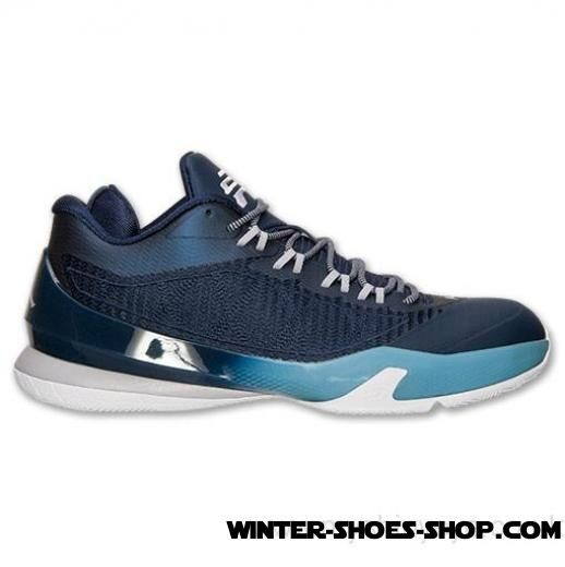 Unique Style US Men's Jordan Cp3.Viii Basketball Shoes Mid Navy/White/Gym Blue Clearance Sale - Unique Style US Men's Jordan Cp3.Viii Basketball Shoes Mid Navy/White/Gym Blue Clearance Sale-31