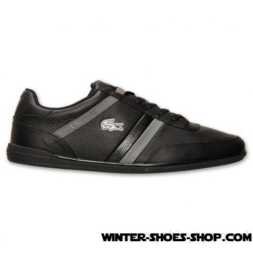 Less Expensive US Men's Lacoste Giron Scy Casual Shoes Black/Dark Grey Hot Sale Online - Less Expensive US Men's Lacoste Giron Scy Casual Shoes Black/Dark Grey Hot Sale Online-31