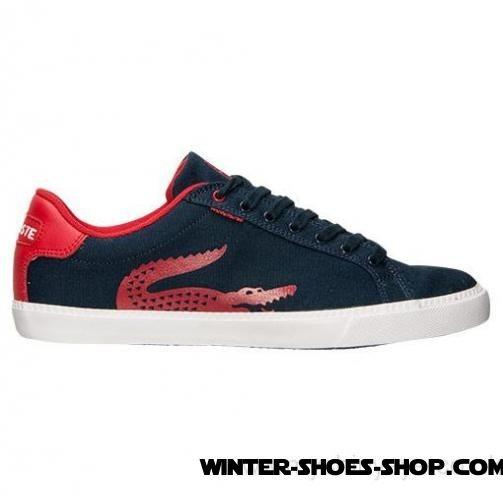 Fascinating Model US Men's Lacoste Grad Vulc Tsp Casual Shoes Dark Blue/Red Coupons - Fascinating Model US Men's Lacoste Grad Vulc Tsp Casual Shoes Dark Blue/Red Coupons-31