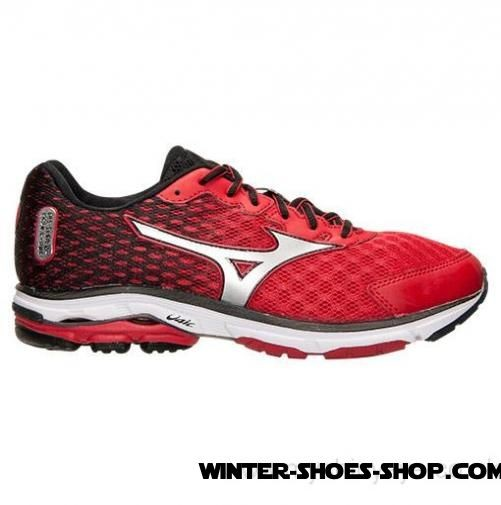 Special Offer US Men's Mizuno Wave Rider 18 Running Shoes Chinese Red/Silver/Black Online - Special Offer US Men's Mizuno Wave Rider 18 Running Shoes Chinese Red/Silver/Black Online-31