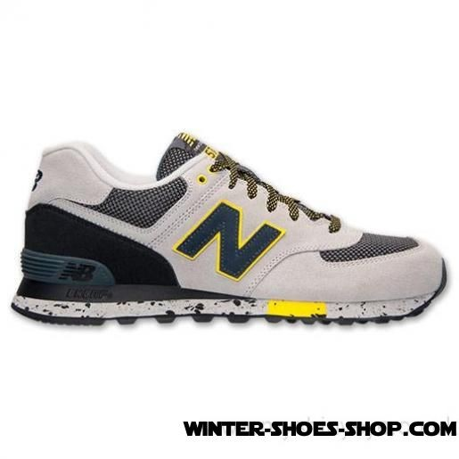 Best-Selling US Men's New Balance 574 Casual Shoes Yellow/Light Grey/Dark Grey/Black On Clearance - Best-Selling US Men's New Balance 574 Casual Shoes Yellow/Light Grey/Dark Grey/Black On Clearance-31