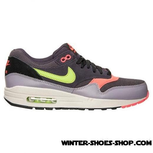 the latest e6e4e efd2a ... Super Specials US Men s Nike Air Max 1 Essential Running Shoes Cave  Purple Fierce Green