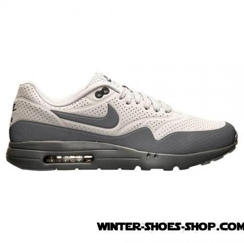 différemment 4ef45 662f8 Prefential Price US Men's Nike Air Max 1 Ultra Moire Running Shoes Neutral  Grey/Dark Grey For Sales