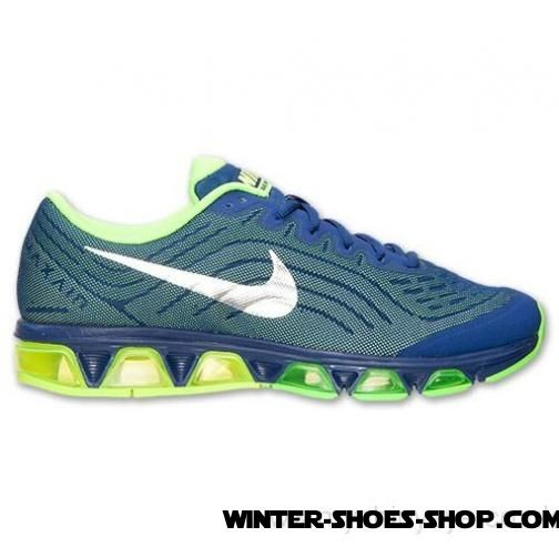 af371b38b1af ... Attractive Model US Men s Nike Air Max Tailwind 6 Running Shoes Deep  Royal Blue Metallic