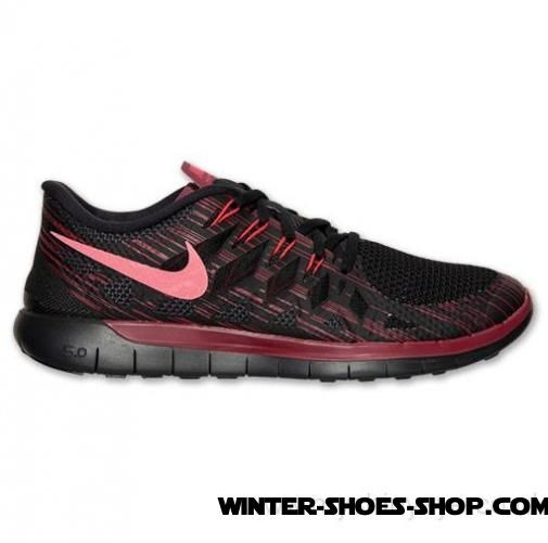 uk availability 99b8b 224ba Hot Sell US Men's Nike Free 5.0 2014 Premium Running Shoes Black/Team  Red/Action Red For Sales