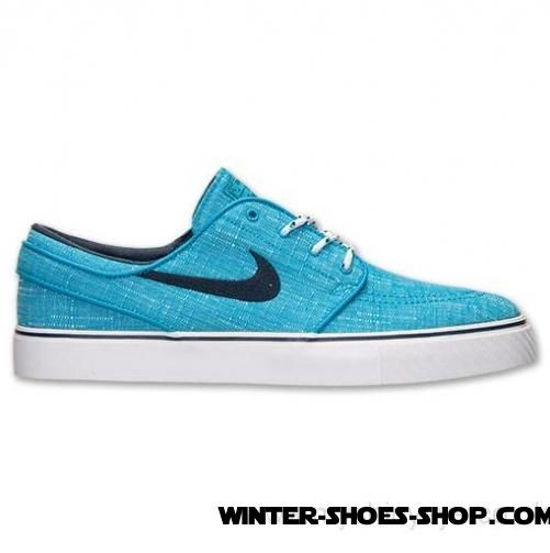 f7f30860b224 ... Sale At 45% Discount US Men s Nike Sb Zoom Stefan Janoski Canvas Casual  Shoes Blue ...