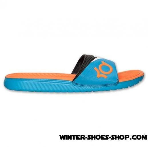 Finest Materials US Men's Nike Solarsoft Kd 2 Slide Sandals Vivid Blue/White/Total Orange Clearance Online - Finest Materials US Men's Nike Solarsoft Kd 2 Slide Sandals Vivid Blue/White/Total Orange Clearance Online-31