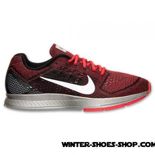 Best-Selling US Men's Nike Zoom Structure 18 Flash Running Shoes Action Red/Reflect Silver/Black Us Sale - Best-Selling US Men's Nike Zoom Structure 18 Flash Running Shoes Action Red/Reflect Silver/Black Us Sale-31
