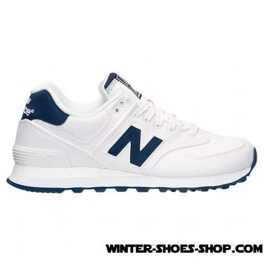 Fascinating Model US Women's New Balance 574 Casual Shoes White/Navy Factory Price - Fascinating Model US Women's New Balance 574 Casual Shoes White/Navy Factory Price-31