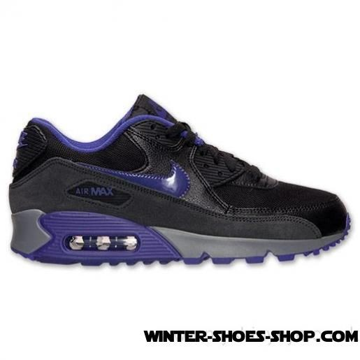 pretty nice 907b5 0b915 ... 2017 Top-Selling US Women s Nike Air Max 90 Essential Running Shoes  Black Court ...