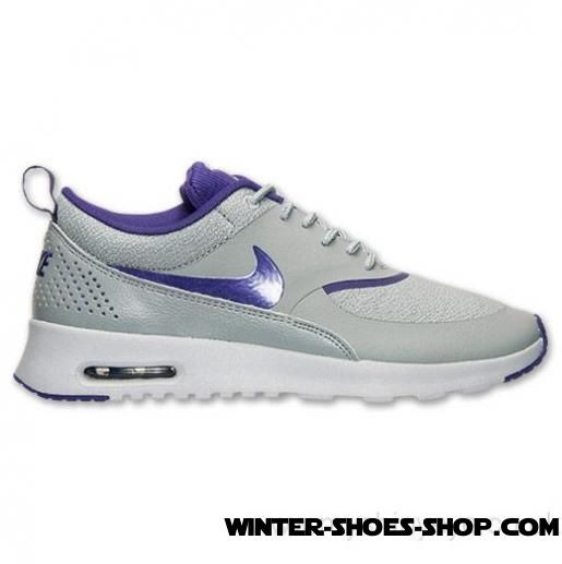 size 40 55dbb 0bec6 2017 Must-Have US Women's Nike Air Max Thea Running Shoes Silver Wing/Cout  Purple/Pure Platinum Online