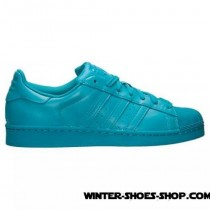 Sells Cheap US Men's Adidas Superstar X Pharrell Williams Supercolor Casual Shoes Lab Green On Sale Store-20
