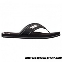 Excellent US Men's Klone Lab By New Balance Heritage Thong Sandals Black Online Store-20