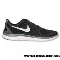 Absolute Quality US Men's Nike Free 4.0 V5 Running Shoes Black/Metallic Silver/Cool Grey Outlet Online Shop-20