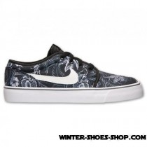 Reduction In Price US Men's Nike Toki Low Textile Print Casual Shoes Cool Grey/White/Black Supplier-20