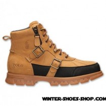 Hot Sale US Men's Polo Ralph Lauren Demond Boots Wheat For Sale Online-20