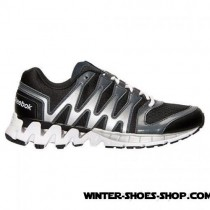 Fascinating Model US Men's Reebok Zigkick Tahoe Road Running Shoes Black/Graphite/White/Silver Clearance Sale-20