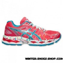 Fantastic Model US Women's Asics Gelnimbus 16 Nyc Running Shoes Hot Pink/Blue Your Best Choose-20