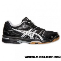 New Products US Women's Asics Gelrocket 7 Volleyball Shoes Black/Silver Store Online-20