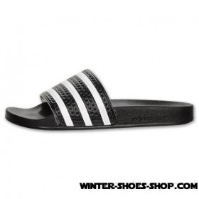 Superior Style US Men's Adidas Adilette Slide Sandals Black/White Outlet
