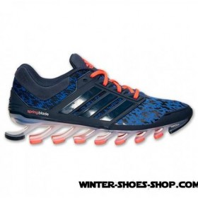 2017 Hot Sell US Men's Adidas Springblade Drive Running Shoes Collegiate Royal/Collegiate Navy Free Shipping