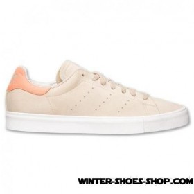 Original Model US Men's Adidas Stan Smith Vulc Nubuck Casual Shoes Sand Hot Sale Online