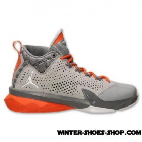 Lower Selling Prices US Men's Jordan Flight Time 14.5 Basketball Shoes Wolf Grey/Electric Orange/Dark Grey Best Deals