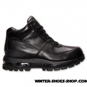 Absolute Quality US Men's Nike Acg Air Max Goadome 2013 Boots Black/Black All The Best