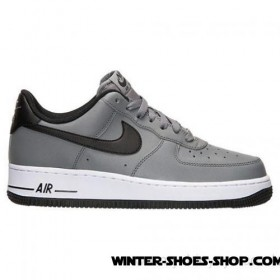 d9ee41683554 Official Store US Men s Nike Air Force 1 Low Casual Shoes Cool Grey Black