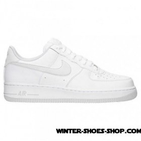Fascinating Model US Men's Nike Air Force 1 Low Casual Shoes White/Pure Platinum Coupon Code