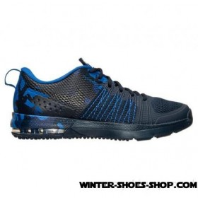 Clearance Sale US Men's Nike Air Max Effort Tr Amp Training Shoes Obsidian/Black/Game Royal Cheap Sale