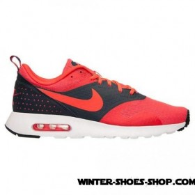 Latest And Hottest US Men's Nike Air Max Tavas Essential Running Shoes Rio/Bright Crimson/Dark Obsidian Sale Outlet