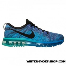 Discount Sale US Men's Nike Flyknit Air Max Running Shoes Hyper Grape/Photo Blue/Hyper Jade Outlet Us Online