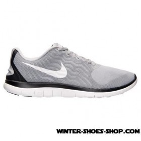 Buy Online US Men's Nike Free 4.0 V5 Running Shoes Wolf Grey/White/Black 2017 Sale Outlet