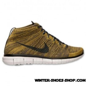 Online Store US Men's Nike Free Flyknit Chukka Running Shoes Tarp Green/Black/Seaweed For Sale Online