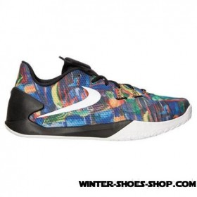 The Varied Pattern US Men's Nike Hyperchase Premium Basketball Shoes Multicolor/Reflect Silver/Black Wholesaler
