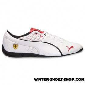Competitive Price US Men's Puma Drift Cat 6 Sf Flash Casual Shoes White/Rosso Corsa Factory Outlet