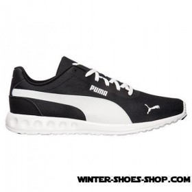 Glamor Model US Men's Puma Fallen Casual Shoes Black/White Outlet Online Sale