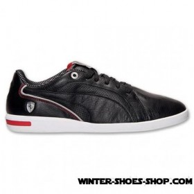 Special Offers US Men's Puma Primo Sf 10 Ferrari Casual Shoes Black/Red For Sales