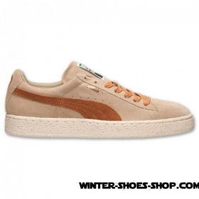 Super Specials US Men's Puma Suede Classic Natural Calm Casual Shoes Cornstalk Outlet Online Sale